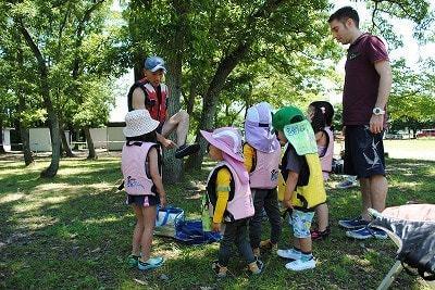 【東京八王子滝山ネイチャークラブ】8月親子で川遊び!