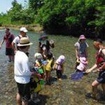 8月親子で川遊び!受付終了しました。
