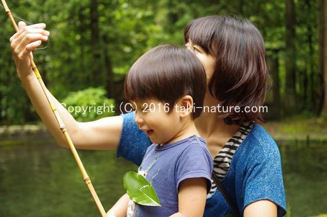 親子でマス釣り【八王子・滝山ネイチャークラブ】