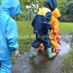 雨を楽しむ 自然を楽しむ